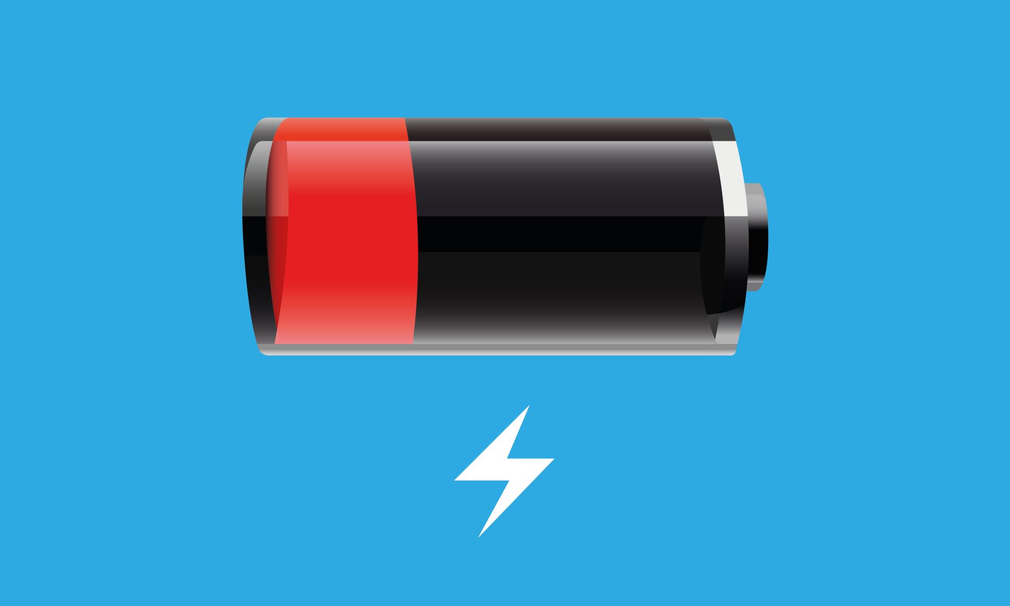 low battery charge